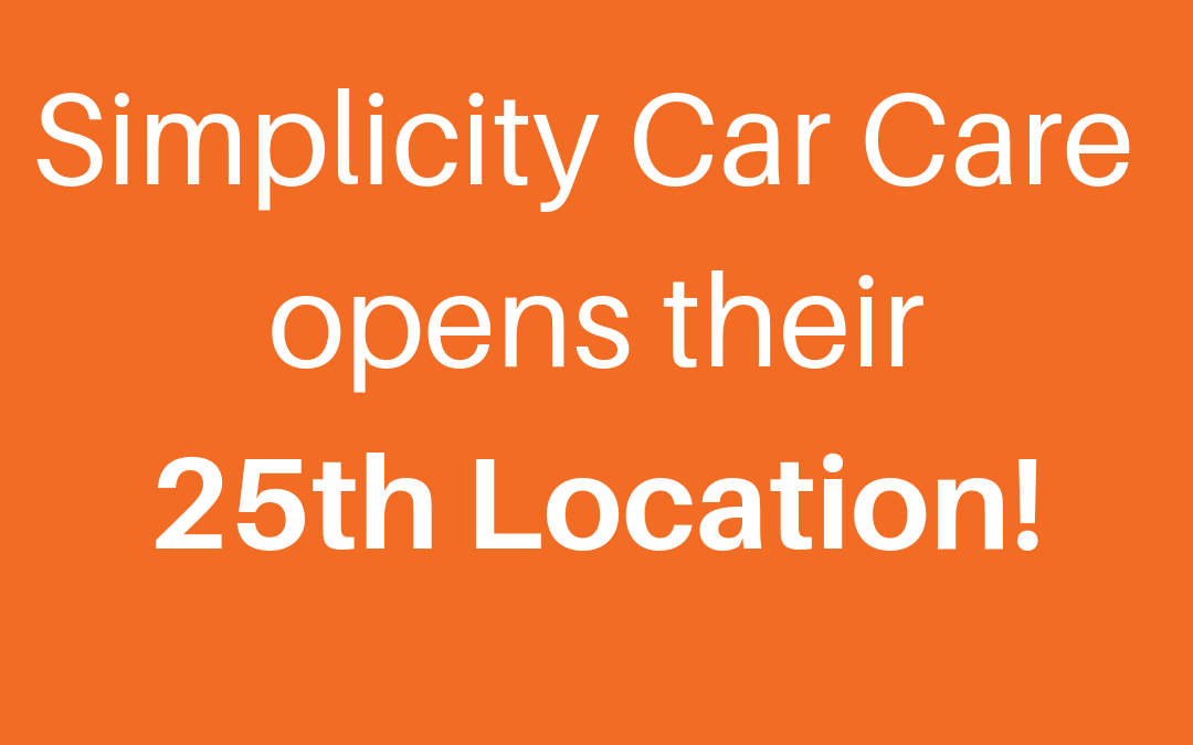 Simplicity Car Care is Proud to Open 25th Canadian Location