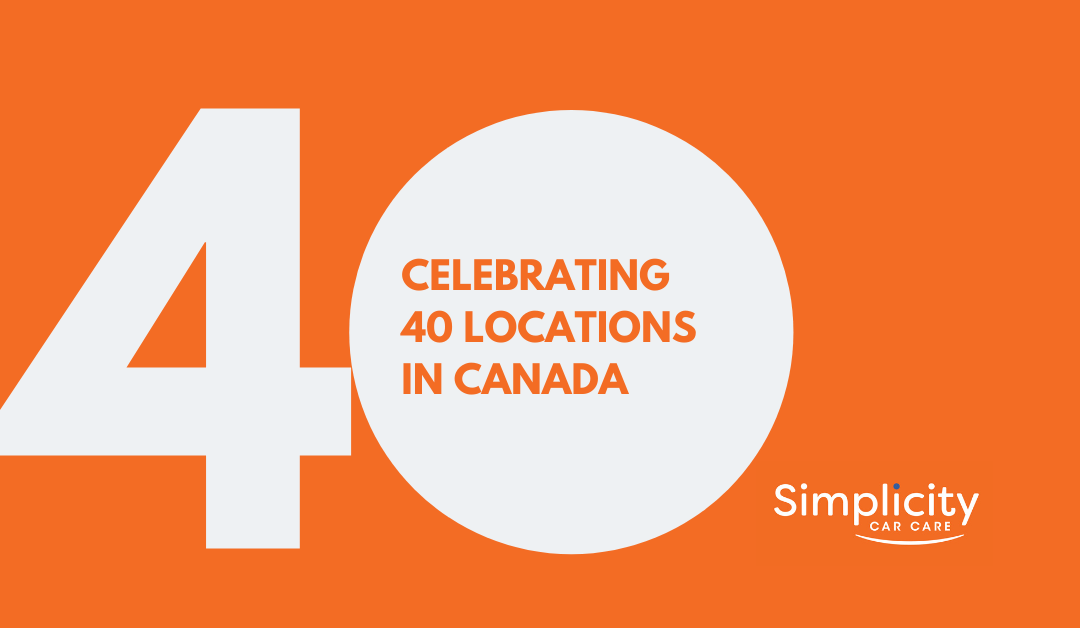 Simplicity Car Care Opens 40th Location in Canada