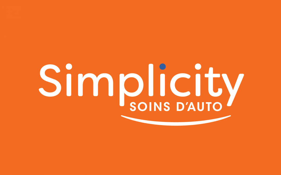 """Simplicity Car Care Brands in French as """"Simplicity Soins d'Auto"""""""