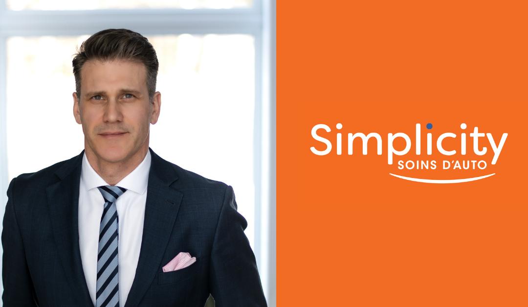Simplicity Car Care welcomes Manuel Furtado as Business Development Manager, Quebec