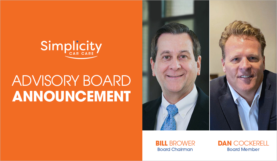 Simplicity Car Care Announces New Board Members